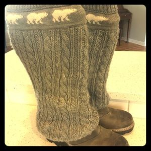 Sorel Crazy Cable Wedge Boot